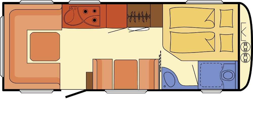 Dethleffs Beduin 670 FSR
