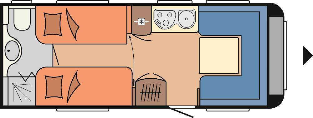 hobby excellent 540 wlu 2013 technische daten. Black Bedroom Furniture Sets. Home Design Ideas