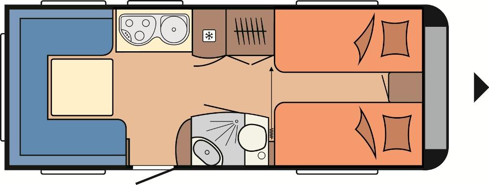 hobby de luxe 540 ul 2014 technische daten. Black Bedroom Furniture Sets. Home Design Ideas