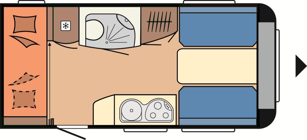 hobby de luxe easy 420 kb 2014 technische daten. Black Bedroom Furniture Sets. Home Design Ideas