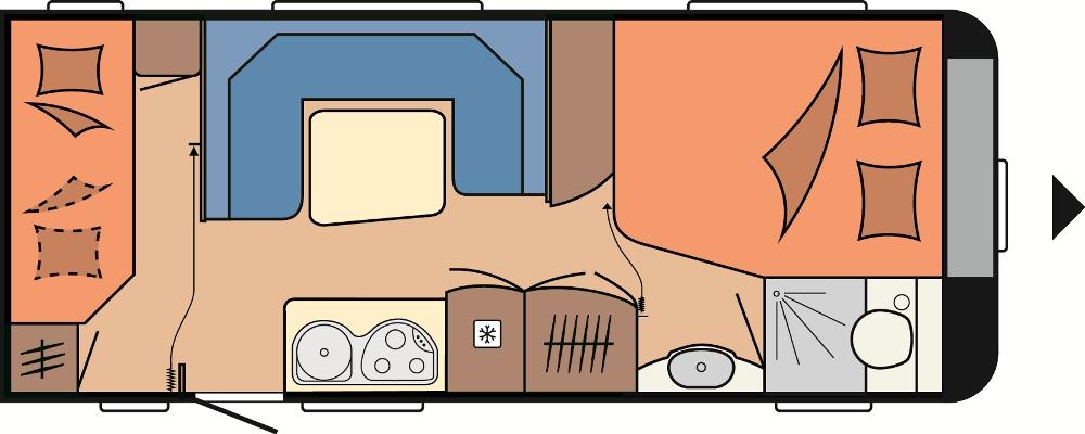 Hobby De Luxe Easy 560 KMFe