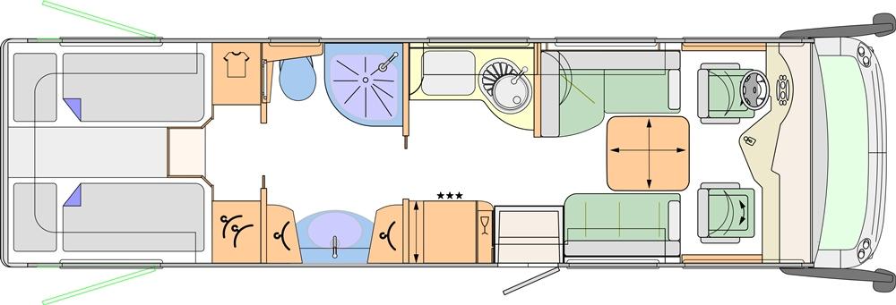 Concorde Charisma 900 LS