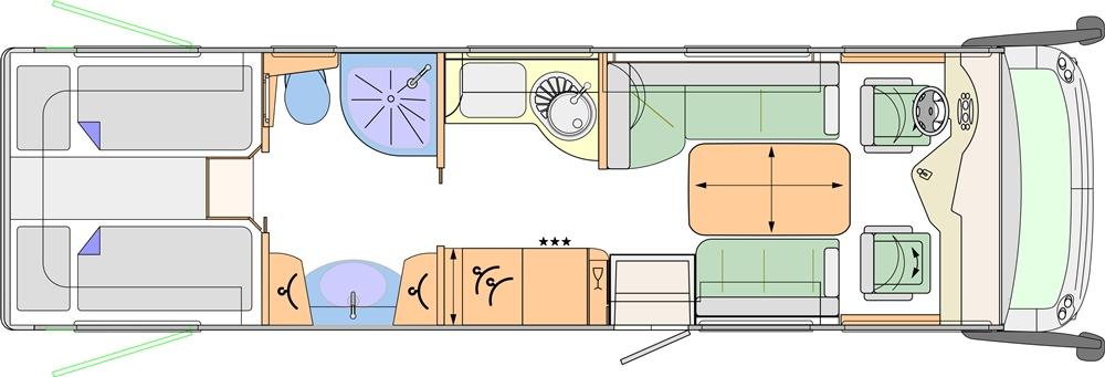 Concorde Charisma 900 L