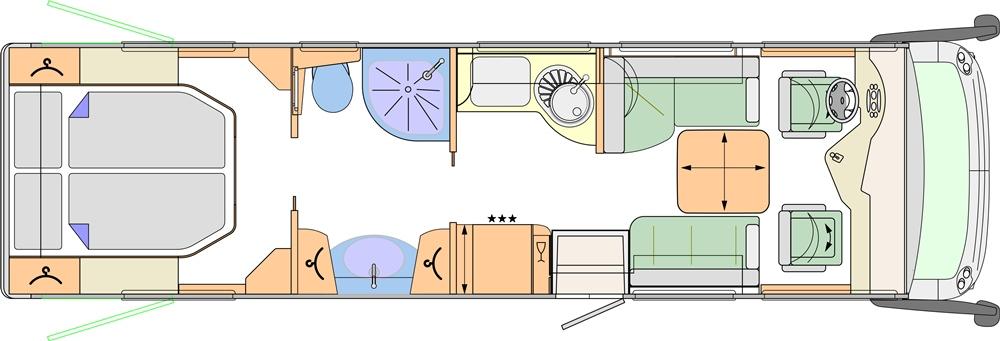 Concorde Charisma 900 M