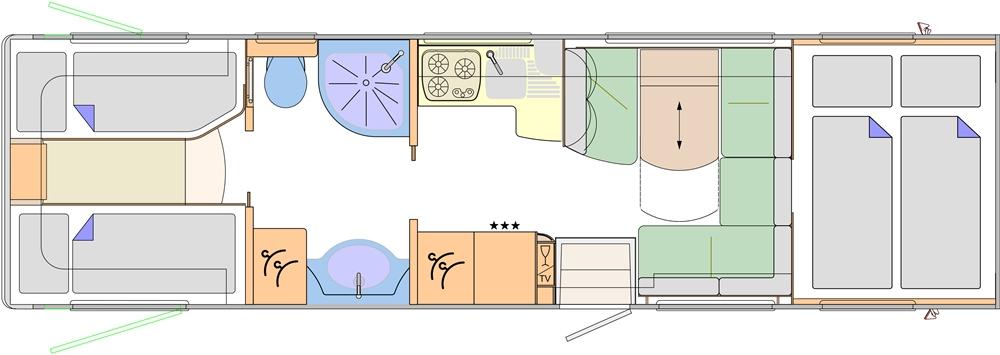 Concorde Cruiser 890 L