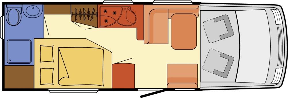 Dethleffs Esprit Comfort I 7090-2