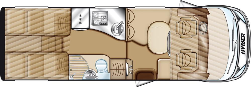 Hymer B-Klasse SL 674